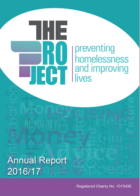 The Project Annual Report 2016-17 pdf - click here to download report