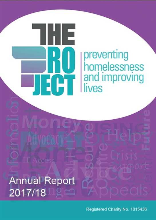 The Project Annual Report 2017-18 pdf - Click here to download report